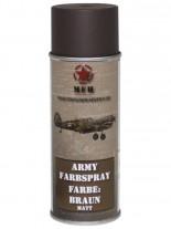 Militär Lack Spraydose braun matt