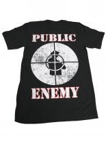 PUBLIC ENEMY Fight The Power T-Shirt schwarz