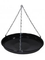Schwenk Bratpfanne mit Kette und Ring 34 cm Durchmesser