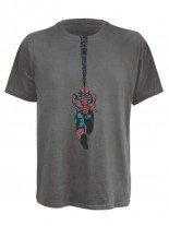 Spiderman T-Shirt Wings in grau