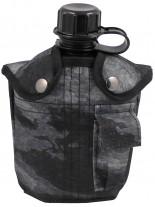 US Plastik Feldflasche 1 L HDT-camo LE