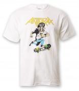 Anthrax T-Shirt weiß Gr. S