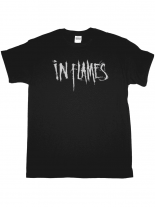 In Flames T-Shirt schwarz Logo