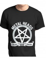 Metal Heads T-Shirt Local Union