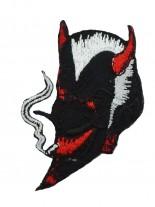 Aufnäher smoking Devil