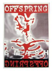 3 The Offspring Smash Postkarten