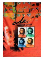 Che Guevara Posterfahne Faces