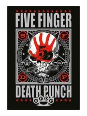 Five Finger Death Punch Poster Fahne
