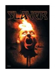 Slayer Poster Fahne Torch Head