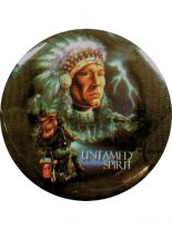 Button Untamed Spirit
