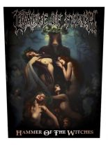 Cradle of Filth Rückenaufnäher Hammer of the Witches