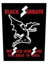 Black Sabbath Rückenaufnäher Sold our Soul