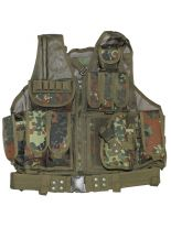 Deployment vest USMC with paddle bw camo