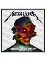 Aufnäher Metallica Hardwired To Self Destruct