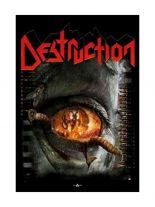Destruction Poster Fahne