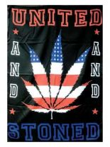 United And Stoned Posterfahne