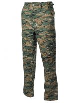 US combat pants digital woodland BDU Rip Stop